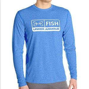 Under Armour FISH 🐟 Long Sleeve T-Shirt Size 2XL